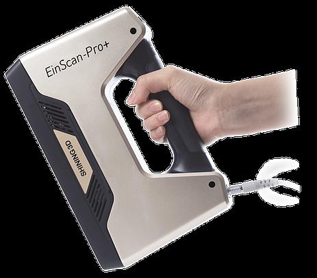 EinScan-Pro+ Komplettpaket mit Koffer